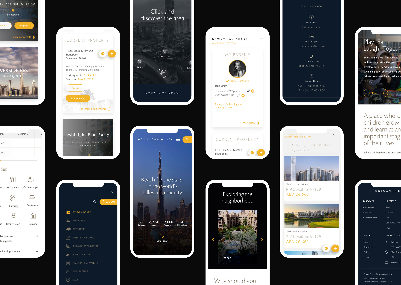 Emaar properties mobile