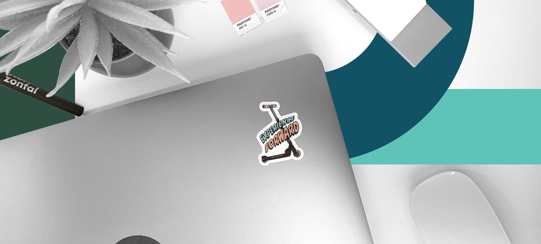 sticker-on-a-laptop